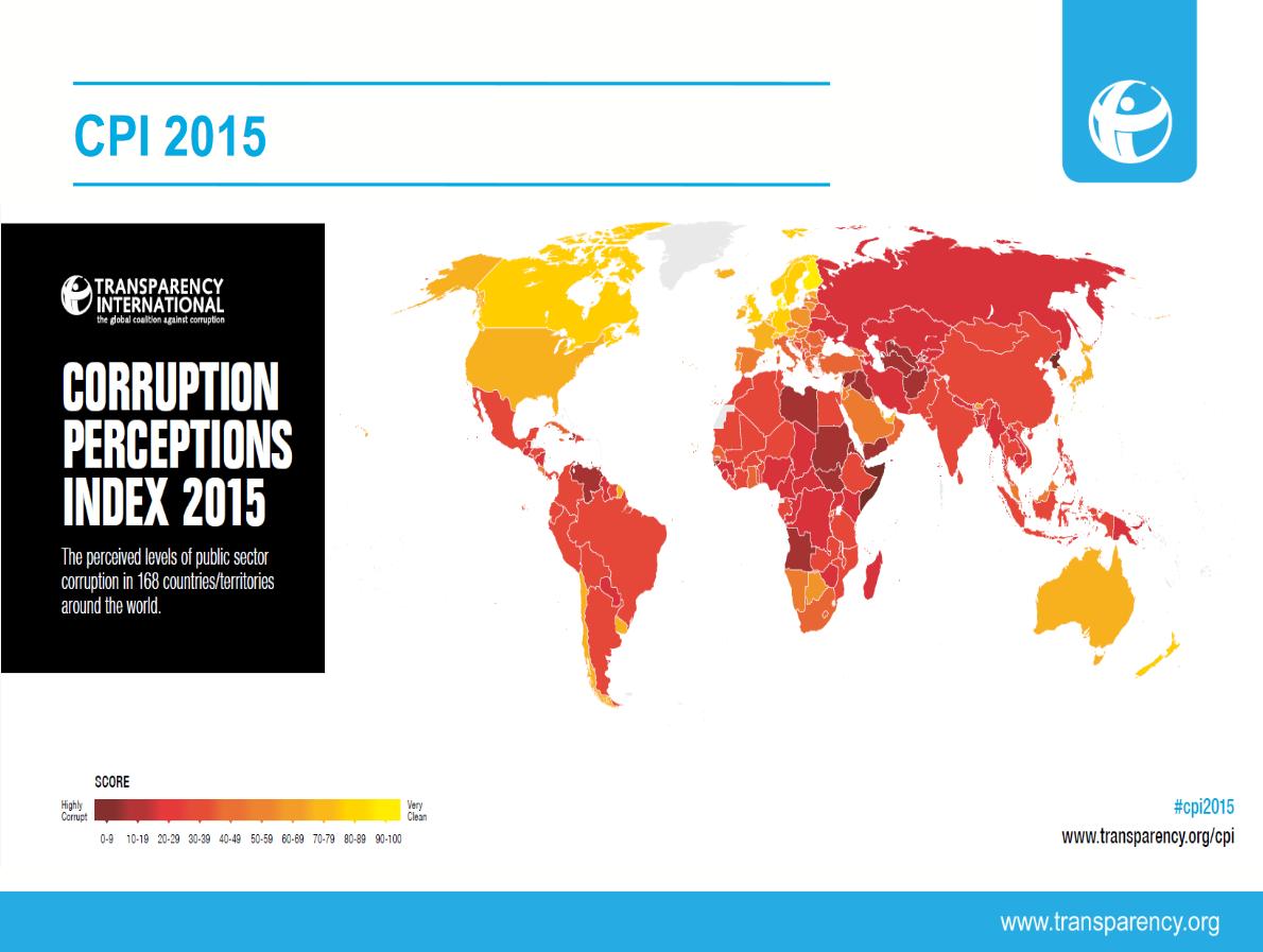 Indicele de Perceptie a Coruptiei 2015