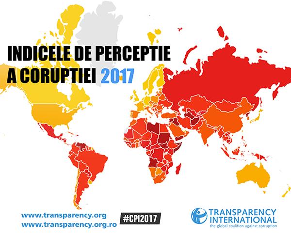 Indicele de Perceptie a Coruptiei 2017