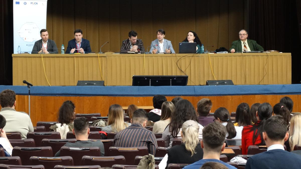 Conferinţa de prezentare a proiectului SIPOCA377